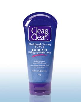 Clean & Clear Blackhead Clearing Scrub  _001