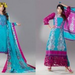 Eiza by UA Textiles Latest Lawn Pruints For Summer 2012-015