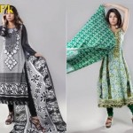Eiza by UA Textiles Latest Lawn Pruints For Summer 2012-017