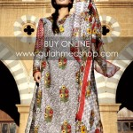 Gul Ahmed Latest Lawn Collection For Summer 2012 001
