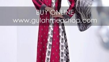 Gul Ahmed Summer 2012 Chiffon Dresses Catalog 2 018