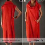 Latest Casual Wear Dresses By Daaman For Summer 2012-001