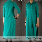 Latest Casual Wear Dresses By Daaman For Summer 2012-002