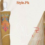 Latest Casual Wear Embroidered Summer Dresses By Silk & Thread 2012-011