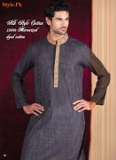Latest Kurta Shalwar Collection For Men By Grace Fabrics 2012-006
