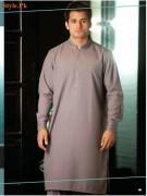 Latest Kurta Shalwar Collection For Men By Grace Fabrics 2012-007