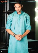 Latest Kurta Shalwar Collection For Men By Grace Fabrics 2012-008