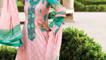 Latest Lawn Collection For Summer By Grace Fabrics 2012-010