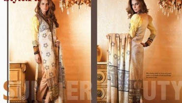 Latest Lawn Collection For Summer by Firdous CLoth Mills 2012-015