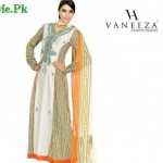 Latest Lawn Collection For Summer by Vaneeza Ahmed 2012-014
