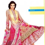 Latest Lawn Collection For Summer by Vaneeza Ahmed 2012-017