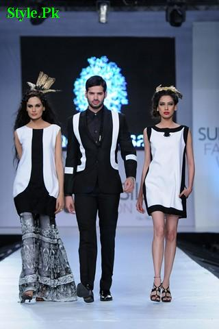 Latest Summer Collection For Men & Women By Fahad Hussayn 2012-012