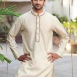Latest Summer Kurta Shalwar For Men by Grace Fabrics 2012-010