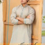 Latest Summer Kurta Shalwar For Men by Grace Fabrics 2012-011