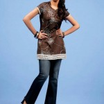 Latest Yellow Summer Collection For Women 2012-006
