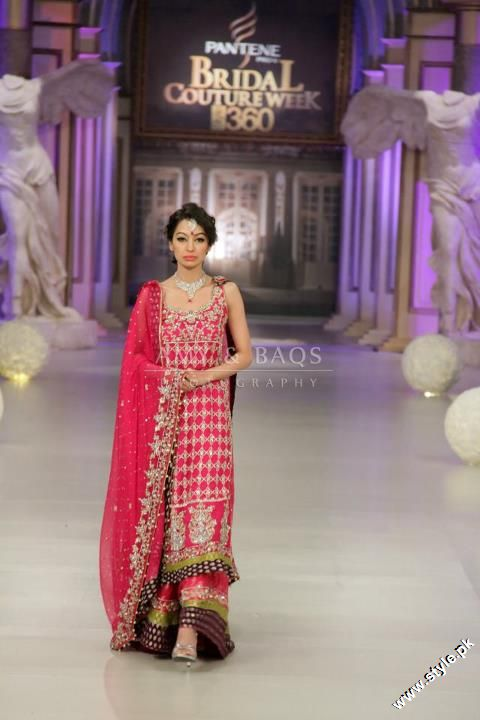 Monia Farooqi Bridal Collection at Pantene Bridal Couture Week 2012 1