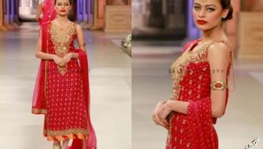 Nomi Ansari Bridal collection at Pantene Bridal Couture Week 2012 1