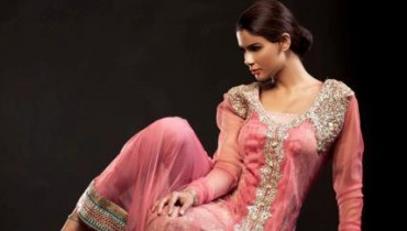 Saadia Mirza Virtues Latest Spring Summer Party Dresses 2012 1