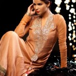 Saadia Mirza Virtues Latest Spring Summer Party Dresses 2012 2