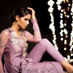 Saadia Mirza Virtues Latest Spring Summer Party Dresses 2012 4