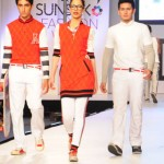Sporty Outfits Showcased By Ammar Belal In PFDC Sunsilk Fashion Week 2012 Day 2 01