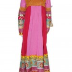 Zahra Ahmed Latest Summer Embroidered Clothes For Women 2012-009