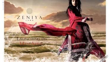 Zeniya Summer Collection Lawn Prints 2012 1