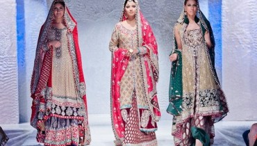 Latest And Exclusive Bridal Collection 2012 By Zainab Sajid in FPW 001