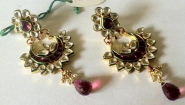 Latest Jewelicious Kundan Summer Jewellery Collection 2012 For Women 001