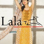 Latest La Femme Summer Collection 2012 by Lala Textiles 009