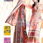 Latest Summer Lawn Collection For Women 2012 by Maria's Collection 001