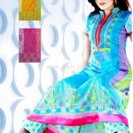 Latest Summer Lawn Collection For Women 2012 by Maria's Collection 002