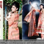 Latest Summer Lawn Collection For Women 2012 by Maria's Collection 006