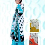 Latest Summer Yashfeen Lawn-Cotton Inn Collection By Maria's Collection 2012 011