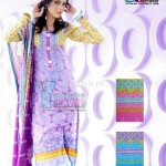 Latest Summer Yashfeen Lawn-Cotton Inn Collection By Maria's Collection 2012 012