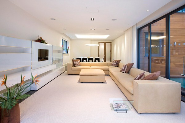 Modern and stylish interior designs for living rooms for Modern living room design ideas 2012
