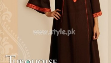Turquoise Latest Summer Casual Wear Collection 2012 001