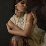 Umsha by Uzma Babar Latest Party Wears 2012 001