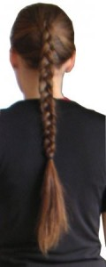 how to french braid your hair