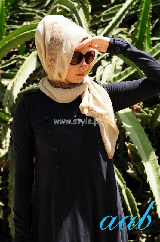Aab Laest Summer Abayas Designs 2012 003