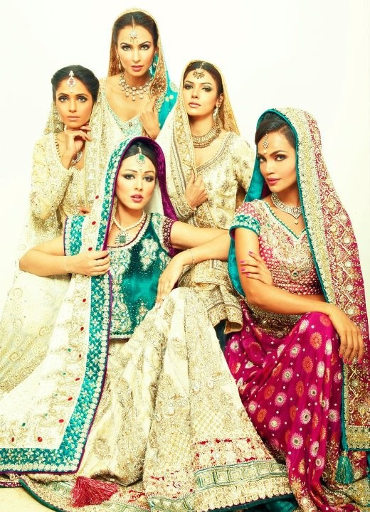 Aeisha Varsey Bridal Wear Collection 2012
