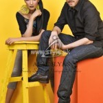 Akif Ilyas Summer 2012 Fashion Shoot Of Yellow I Love You Collection 006