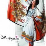 Al Zohaib Textile Mahiymaan Eid Collection 2012009
