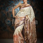 Eid-ul-Fitre 2012 Designer Saree Collection by Mansha013