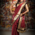 Eid-ul-Fitre 2012 Designer Saree Collection by Mansha014