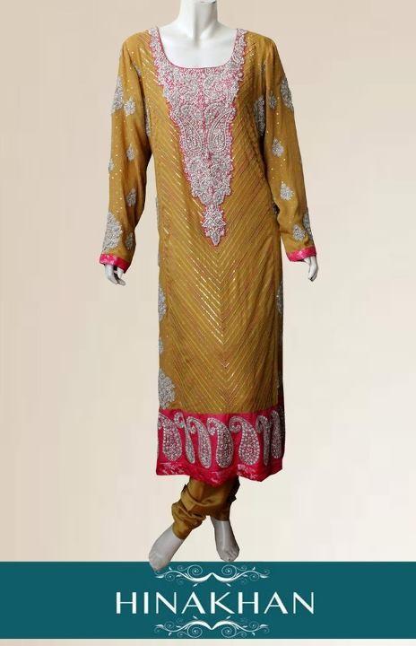 Hina Khan 2012 Latest Formal Wear Dresses for Women