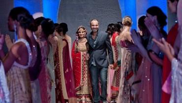 Latest Deepak Perwani Collection 2012 in PFW, London 001