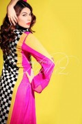Needlez by Shalimar Latest Color Blocking Outfits 2012 002
