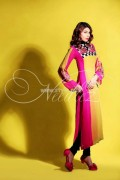 Needlez by Shalimar Latest Color Blocking Outfits 2012 003
