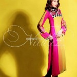 Needlez by Shalimar Latest Color Blocking Outfits 2012 003